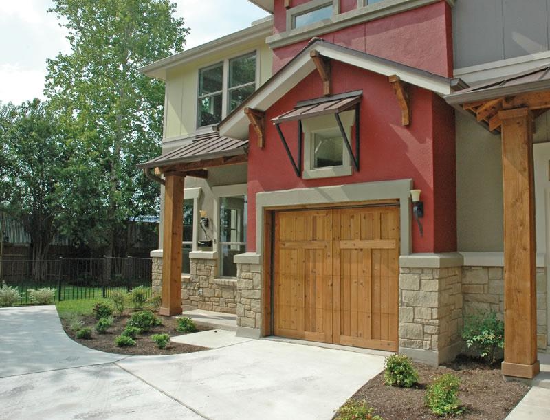 Carriage door opener for Dallas garage doors