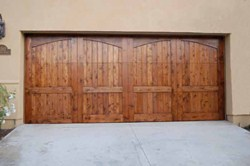 Awesome A Beautiful, Natural Option For Garage Doors
