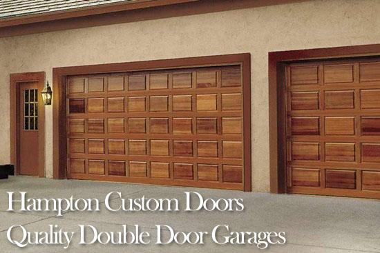 For a free double door garage estimate  call TBS Custom Garage Doors today. TBS Garage Doors   Hardwood Garage Doors  Repair  Installation